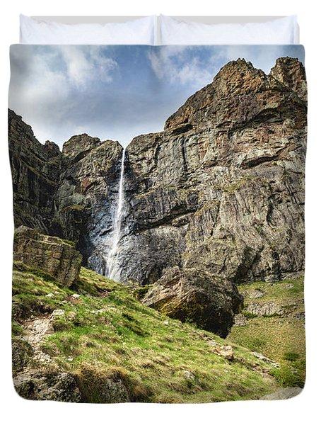 Raysko Praskalo Waterfall, Balkan Mountain Duvet Cover