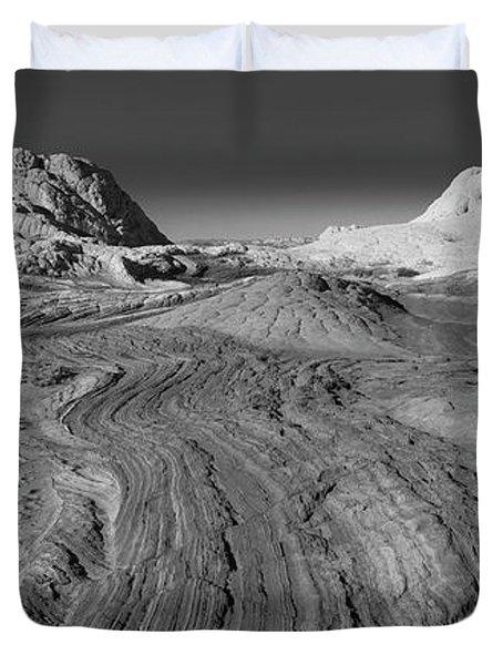 Rock Detail At White Pocket, Paria Duvet Cover