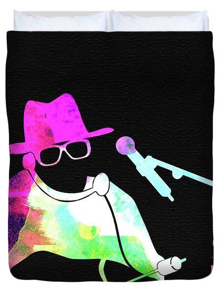 Run Dmc Watercolor Duvet Cover