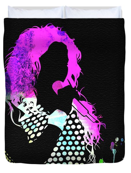 Shakira Watercolor Duvet Cover