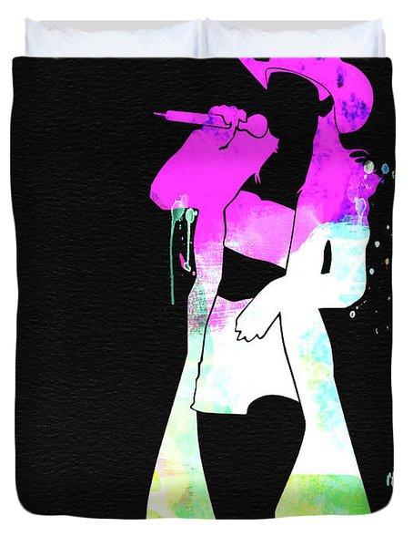 Shania Watercolor Duvet Cover