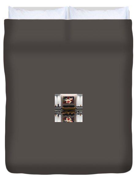 Stay On The Track Duvet Cover