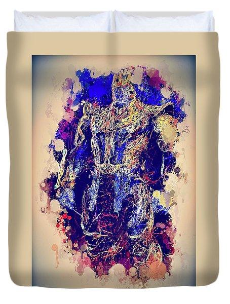 Thanos Watercolor Duvet Cover