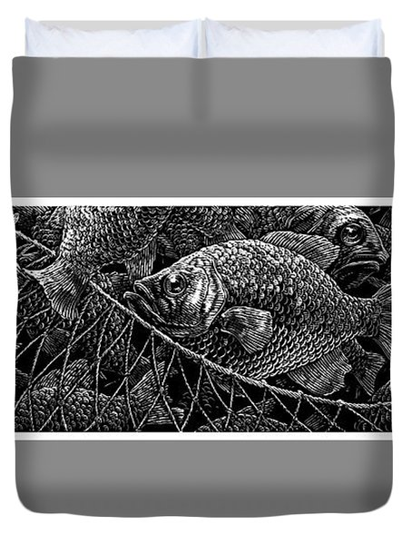 The Catch Duvet Cover