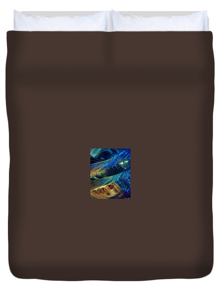 The Collapse Duvet Cover