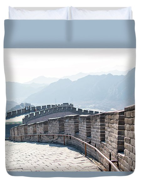 The Great Wall Of China Duvet Cover