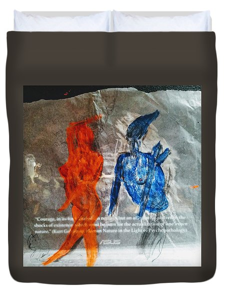 The Immolation Duvet Cover