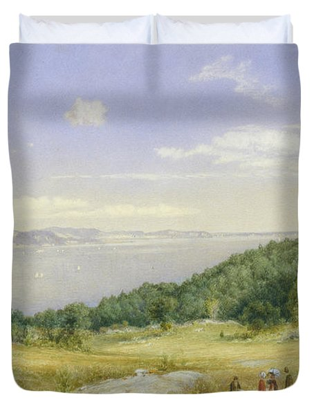 The Palisades Duvet Cover