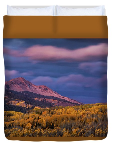 The Whisper Of Clouds Duvet Cover