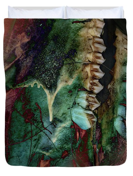 Unnatural Selection Duvet Cover