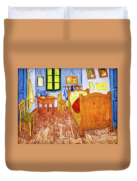 Van Gogh's Bedroom Duvet Cover