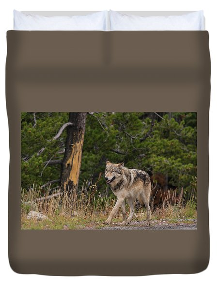 Duvet Cover featuring the photograph W1 by Joshua Able's Wildlife