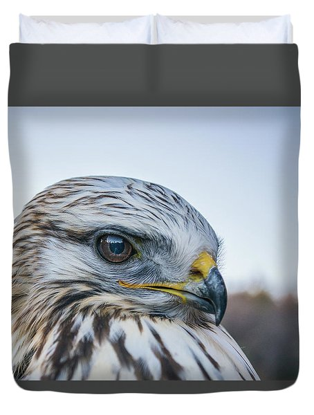 Duvet Cover featuring the photograph B2 by Joshua Able's Wildlife