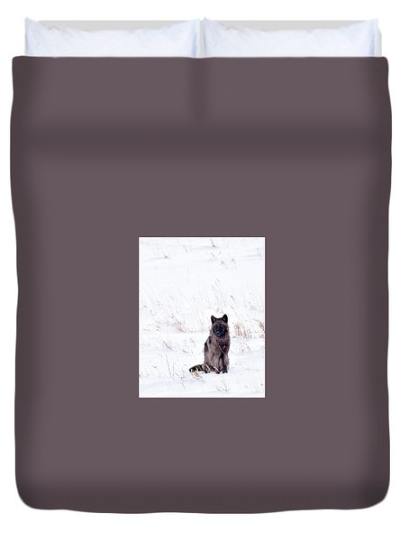 Waiting Duvet Cover