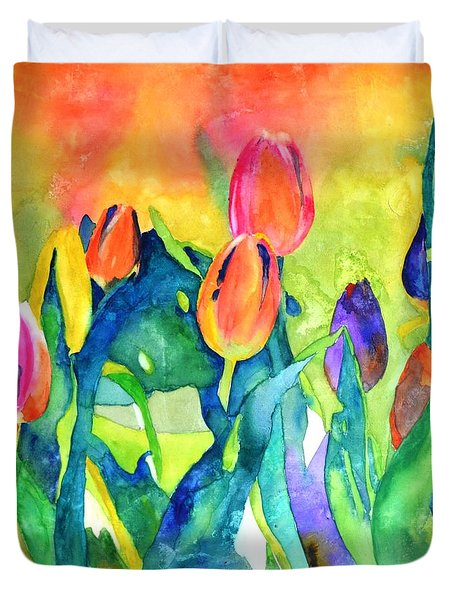 Welcome Spring #1 Duvet Cover