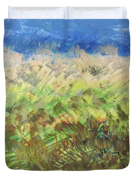 Windy Fields Duvet Cover
