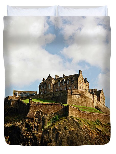 19/08/13 Edinburgh, The Castle. Duvet Cover