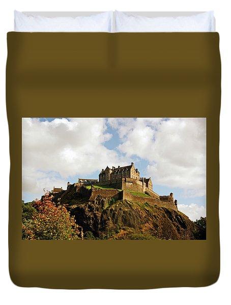 19/08/13 Edinburgh, The Castle. Duvet Cover