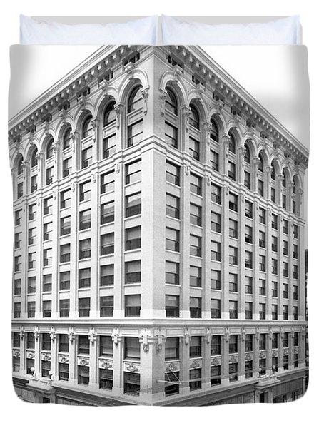 1912 Central Building  Los Angeles  Ca Duvet Cover