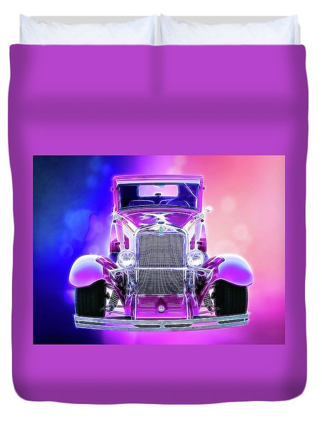 1930 Chevy Duvet Cover