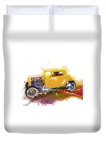 1932 Ford Hotrod Duvet Cover
