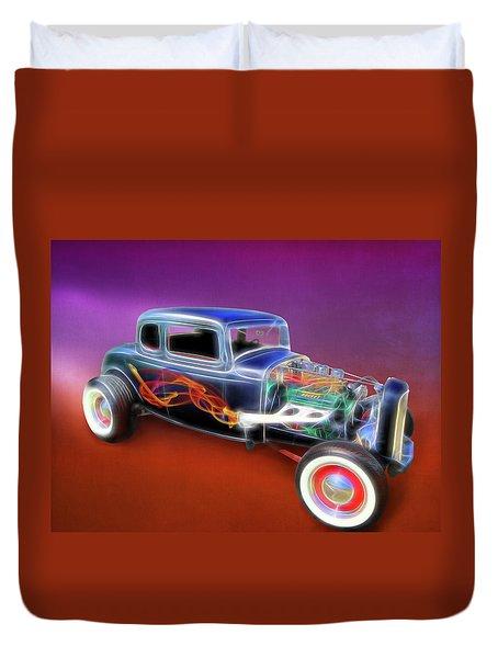 1932 Ford Roadster Duvet Cover