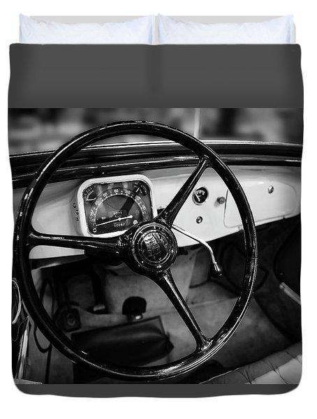 1936 Citroen Roadster Duvet Cover
