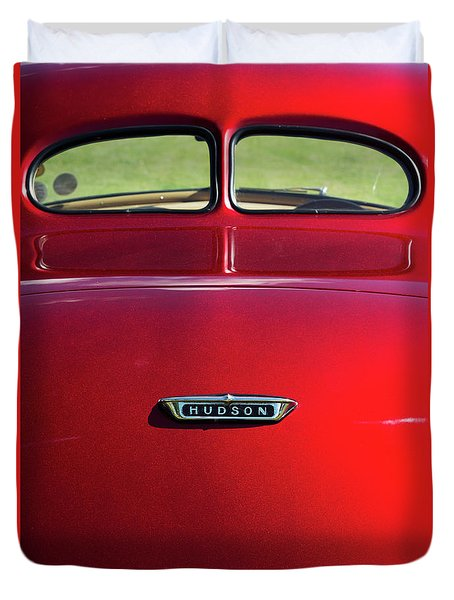 1938 Hudson 112 Coupe  Duvet Cover