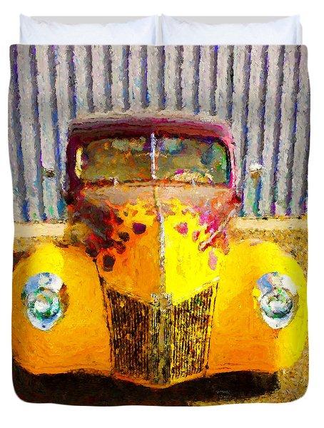 1940 Ford Duvet Cover