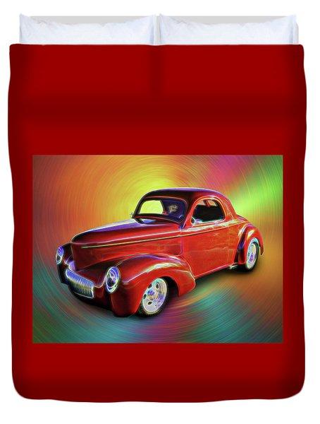 1941 Willis Coupe Duvet Cover