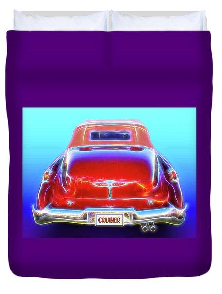 1949 Buick Cruiser Duvet Cover