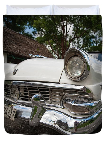 1953 Cuba Classic Duvet Cover