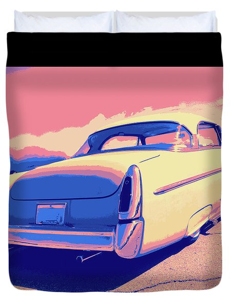 1953 Mercury Custom Duvet Cover