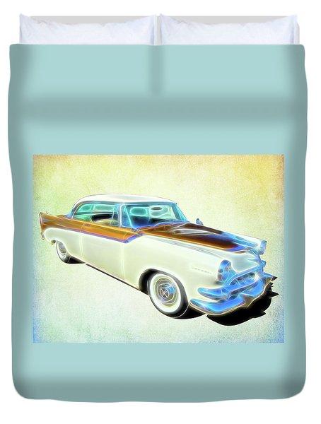 1956 Dodge Royal Duvet Cover