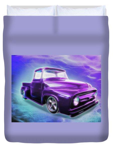 1956 Ford Truck Duvet Cover
