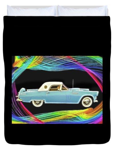 1956 Thunderbird Duvet Cover
