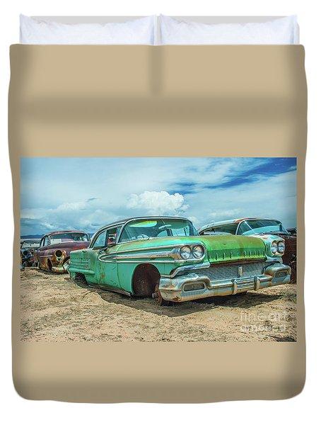 1958 Oldsmobile Super 88 Duvet Cover