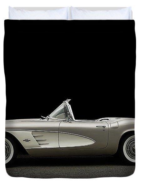 1961 Corvette Duvet Cover