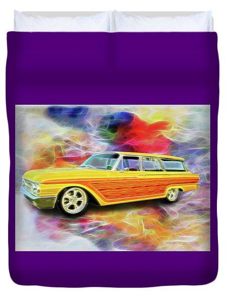 1961 Ford Wagon Duvet Cover