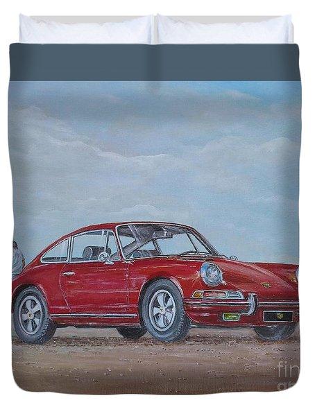 1968 Porsche 911 2.0 S Duvet Cover