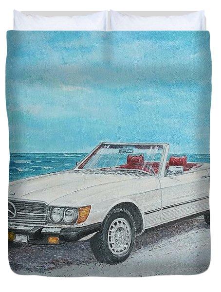 1979 Mercedes 450 Sl Duvet Cover