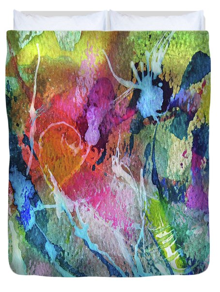 Abstract 224 Duvet Cover