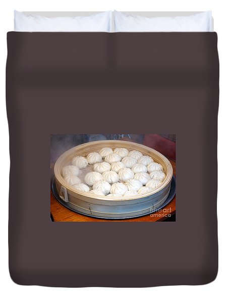 Chinese Steamed Buns Duvet Cover