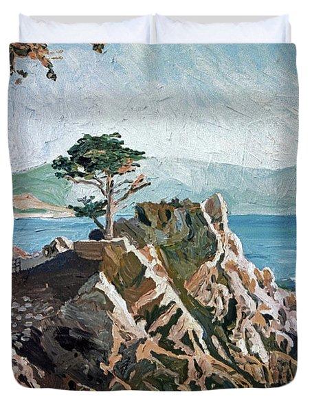 Cypress Point Monterey Duvet Cover