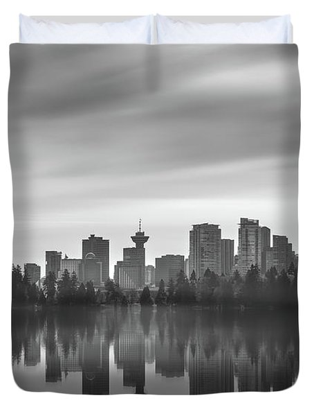 Downtown Vancouver Duvet Cover