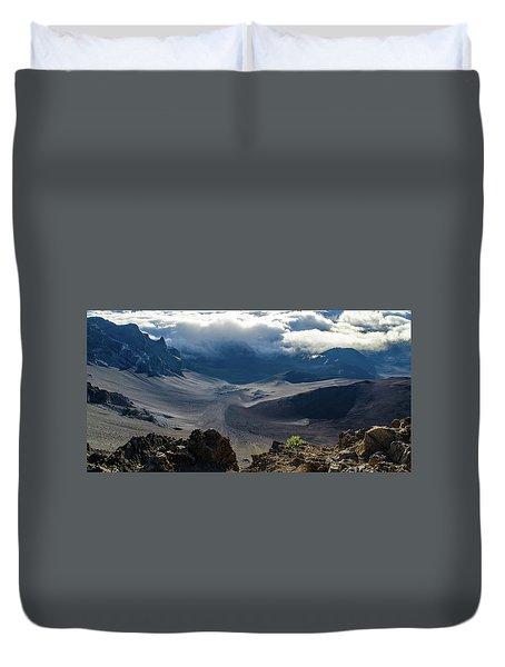 Haleakala Crater Duvet Cover
