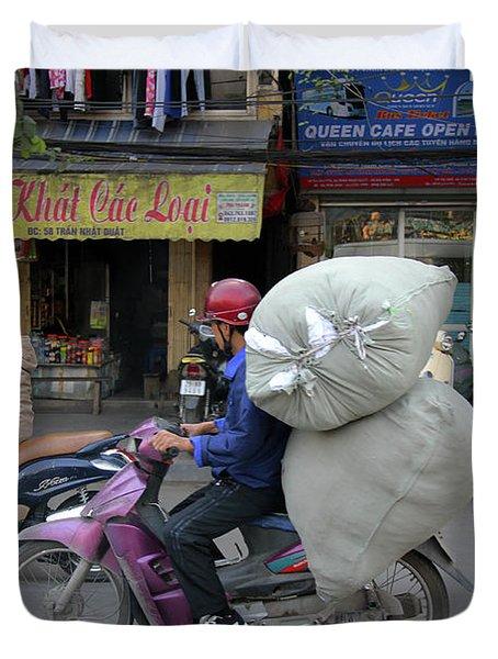 Hanoi, Viet Nam Duvet Cover