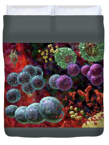 Immune Response Antibody 4 Duvet Cover
