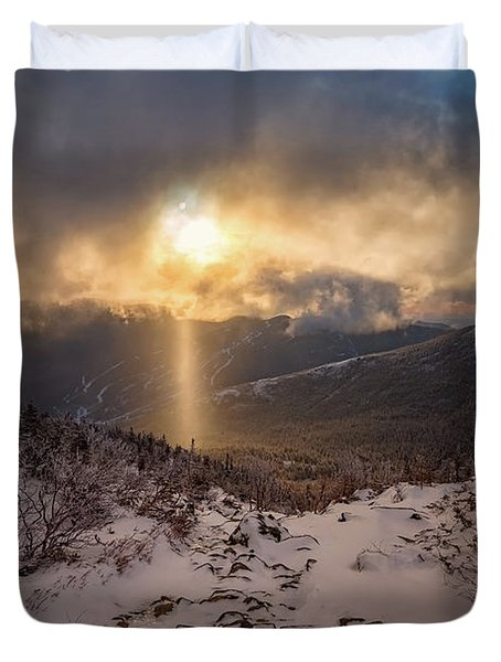 Let There Be Light Duvet Cover