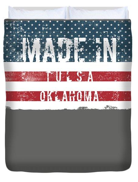 Made In Tulsa, Oklahoma Duvet Cover